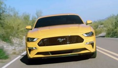 Ford Mustang 2018 : premières photos et vidéo de l'étonnant restylage