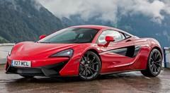 Essai McLaren 540C
