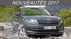 Nouveautés 2017 - Grands 4x4 et SUV: 5008 et Koleos en pointe
