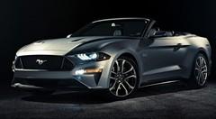 Ford dévoile la Mustang Cabriolet restylée