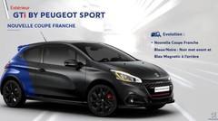 Nouvelle peinture Coupe Franche pour la Peugeot 208 GTI