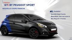 Nouvelle couleur Coupe Franche pour la 208 GTi Peugeot Sport