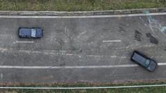 Drone constatateur d'accident pour la police