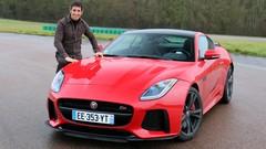 Essai Jaguar F-Type SVR par Soheil Ayari : animal très très méchant