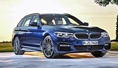 BMW Série 5 : la version Touring se dévoile