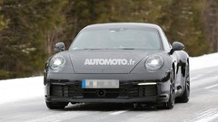 La future Porsche 911 surprise en Laponie