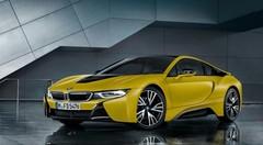 BMW i8 Frozen Edition : la folie du mat