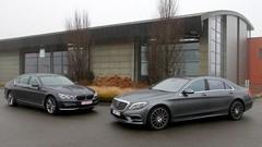 Essai BMW 740 Le vs Mercedes S 500e L : Le luxe, version branchée