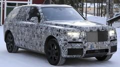 """Projet """"Cullinan"""" : Bientôt un SUV pour Rolls-Royce"""