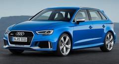 Audi RS3 restylée 2017 : 400 ch pour la compacte aux anneaux