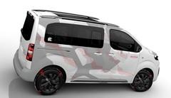 Citroën SpaceTourer 4x4 Ë : concept publicitaire