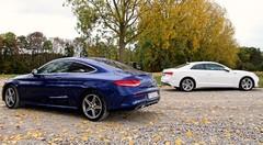 Essai Audi A5 2.0 TDI 190 vs Mercedes C 220d Coupé : Coupés, en formes