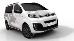 Citroën Spacetourer Ë Concept : paré pour les Alpes