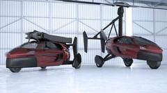 La première voiture volante arrive sur le marché pour 2018
