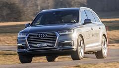 Essai Audi Q7 e-tron Quattro : Espace XL pour conso verte