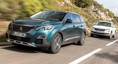 Essai Peugeot 5008 2 vs Skoda Kodiaq 2017 : le duel des SUV 7 places