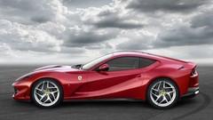 Ferrari 812 Superfast 2017 Un V12 Atmo De 800 Ch Et 4 Roues Directrices