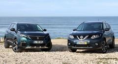 Essai Nissan X-Trail vs Peugeot 5008 : une différence de calibre