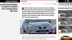 La nouvelle Renault Mégane RS surprise dans sa forme quasi-définitive