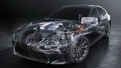 Lexus LS500h : quelques informations techniques avant le grand jour