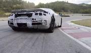 La McLaren 720S en piste