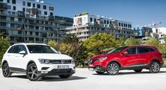 Essai Renault Kadjar contre Volkswagen Tiguan