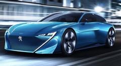 Peugeot s'essaie à la conduite autonome avec le concept Instinct