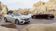La Mercedes Classe E Cabriolet 2017 fait le plein de photos