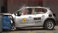 Crash-test Euro NCAP : 4 étoiles pour la C3, 3 pour la Ka+