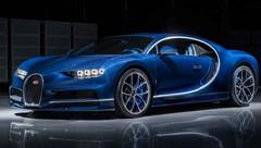 Bugatti Chiron en carbone apparent « Bleu Royal » à Genève !