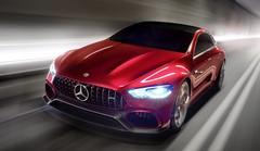 Mercedes-AMG GT Concept : le premier coupé à quatre portes 100% AMG !
