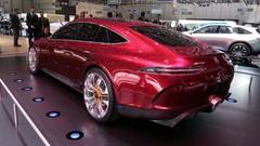 Mercedes-AMG GT Concept : le match avec la Panamera depuis Genève !