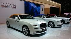 Rolls-Royce : haute couture et peinture diamant pour Genève