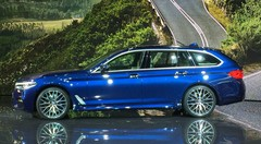 BMW Série 5 Touring: Classe affaires