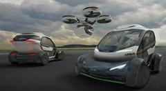 Pop.Up : le concept de voiture volante dévoilée par Airbus au salon de Genève