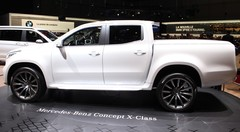 Mercedes X-Class Concept : pick up de luxe
