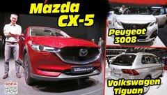 Mazda CX-5 (2017) : le match face aux 3008 et Tiguan