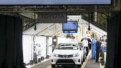 Toyota hésite à produire sa prochaine Auris en Grande-Bretagne…
