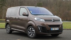 Essai Citroën Spacetourer 2017 : stop au Trafic