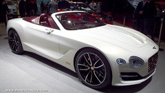 Bentley EXP 12 Speed 6e Concept : illustration du futur