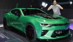 Chevrolet Camaro Track Concept : en vert et contre tous