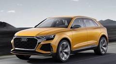 Audi Q8 Sport Concept : démonstrateur 48V