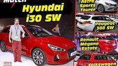 La Hyundai i30 SW face à ses rivales