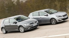 Essai : La nouvelle Volkswagen Golf défie la Peugeot 308