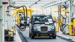 Une usine toute neuve pour le taxi londonien hybride rechargeable