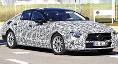 La Mercedes CLS 2018 allège son camouflage