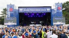Grand Pique-Nique Dacia 2017 : un concert d'Amir au programme