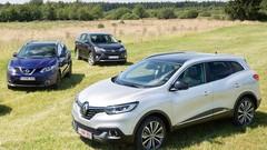 De plus en plus de SUV en Europe
