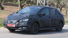 Nissan Leaf 2018 : première sortie bien camouflée