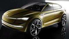 Skoda Vision E 2017 : un concept de SUV Coupé électrique et autonome